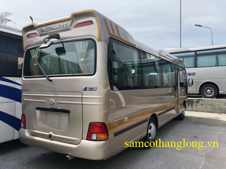xe khách 29 chỗ tracomeco 2020
