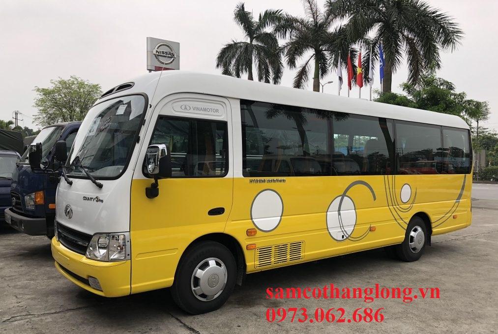 xe khách 29 chỗ hyundai county one 2020