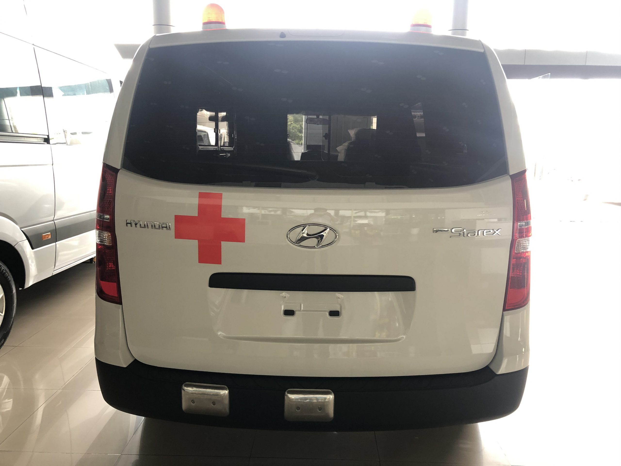 xe cứu thương tại Bắc Giang
