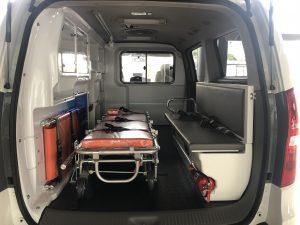 khoang bênh nhân xe cứu thương hyundai starex