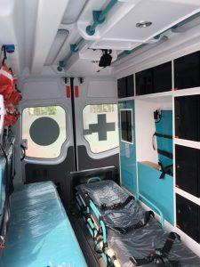 Nội thất xe ô tô cứu thương