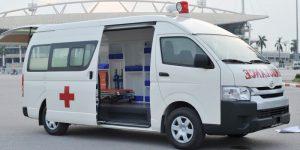 mẫu xe cứu thương tại Việt Nam -toyota nhập khẩu Nhật bản