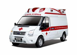 xe cứu thương ford nhập khẩu