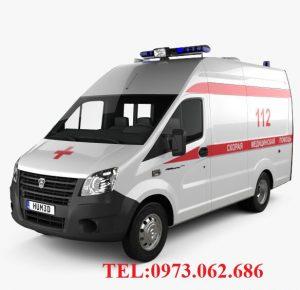 xe Gaz cứu thương nhap khẩu Nga