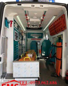 mẫu xe cứu thương tại Việt Nam