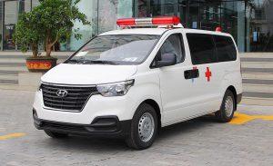 mẫu xe cứu thương tại Việt Nam - hyundai starex
